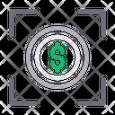 Focus Dollar Target Icon