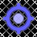 Focus Goal Center Icon