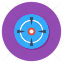 Focus Reticle Scope Icon