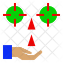 Growing Attentive Focus Icon