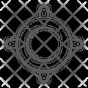 Focus Crosshair Radar Icon