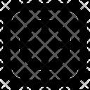 Reticle Focus Center Icon