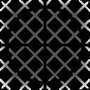 Focus Reticle Crosshair Icon