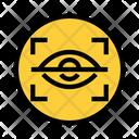 Focus Hide Security Icon