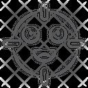 Emoticon Focus Emoji Target Emoji Icon