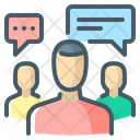 Focus Group Team Group Icon