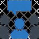Focus Group Market Segment Group Icon