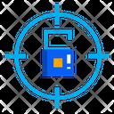 Focus Lock Target Lock Target Security Icon
