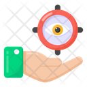 Target Monitoring Focus Monitoring Monitoring Protection Icon