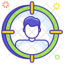 Focus Person Client Target Financial Goal Icon