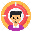 Focus User Focus Person Focus Patient Icon