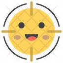 Focus Smiley Icon