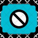 Focus Stop Icon