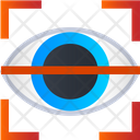Focus View Eye Focus View Scan Icon