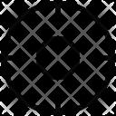 Focusing Targeting Crossing Icon