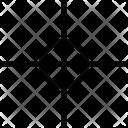 Focusing Crosshair Reticle Icon
