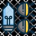 Icar Lighting Lamp Icon