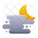 Foggy Weather Sky Icon