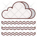 Foggy Cloud Fog Icon