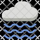 Foggy Fog Wave Icon