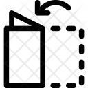 Fold Half Letter Icon