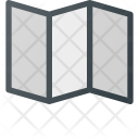 Fold Paper Position Icon