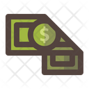 Dollar Money Fold Icon