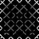 Foldback Clip Icon