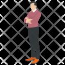 Man Male Austere Icon