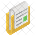 Text Document Writing Document Folded Document Icon