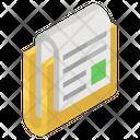 Folded Document Icon