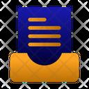 Folded File Icon