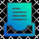 Folded File Files And Folders File Folder Icon