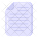 File Folded Paper Document Icon