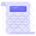 Folded Paper Icon