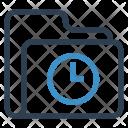 Folder Watch Data Icon