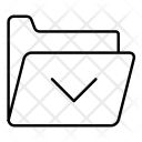 Archive Folder Fiels Icon