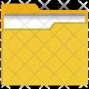 Folder Archive Open Icon