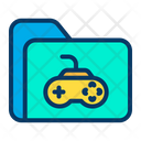 Game Folder Gaming Folder Video Game Folder Icon