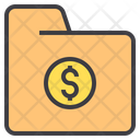Folder Report Financial Folder Financial Folder Icon