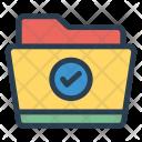 Folder Done Archive Icon