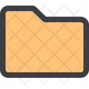 Folder Data Collection Data Storage Icon