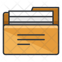 Filled Folder Archive Icon