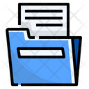 Folder Library Document Icon