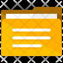 Written Folder Icon