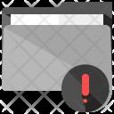 Alert Folder Warning Icon