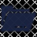 Folder Open Archive Icon