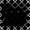 Info Folder Open Icon