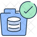 Folder Data Folder Data Storage Icon