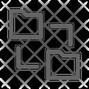 Folder Sharing Storage Icon
